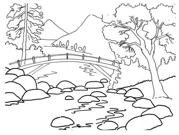 Black and white countryside clipart image transparent Free Landscape Drawing Cliparts, Download Free Clip Art, Free Clip ... image transparent