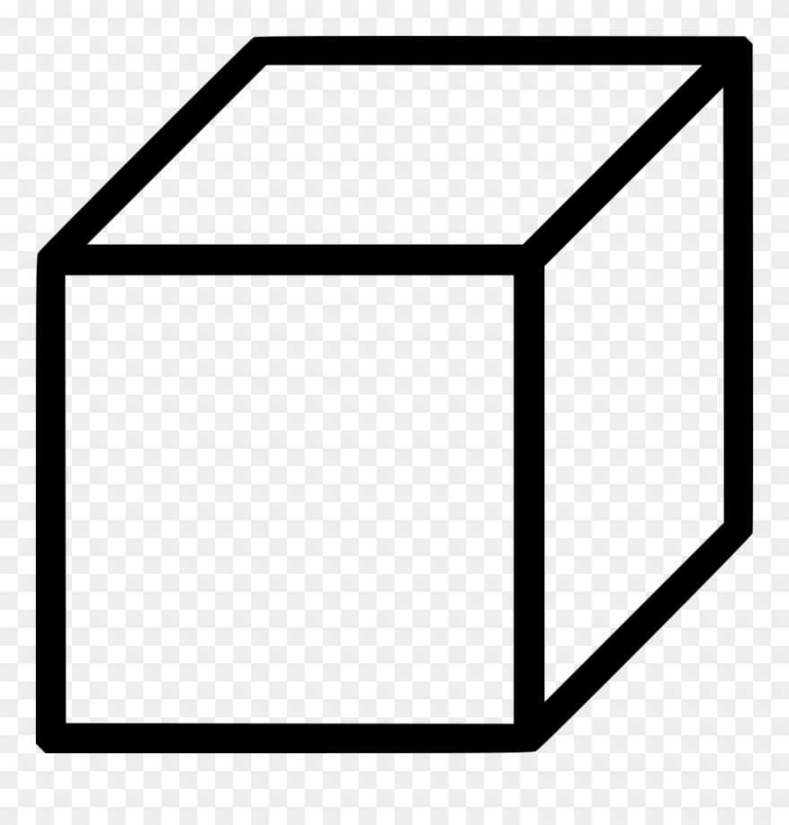 Black and white cube clipart svg library stock Cube Shape Clipart Cube Shape Clip Art - Cube Icon - Png Download ... svg library stock