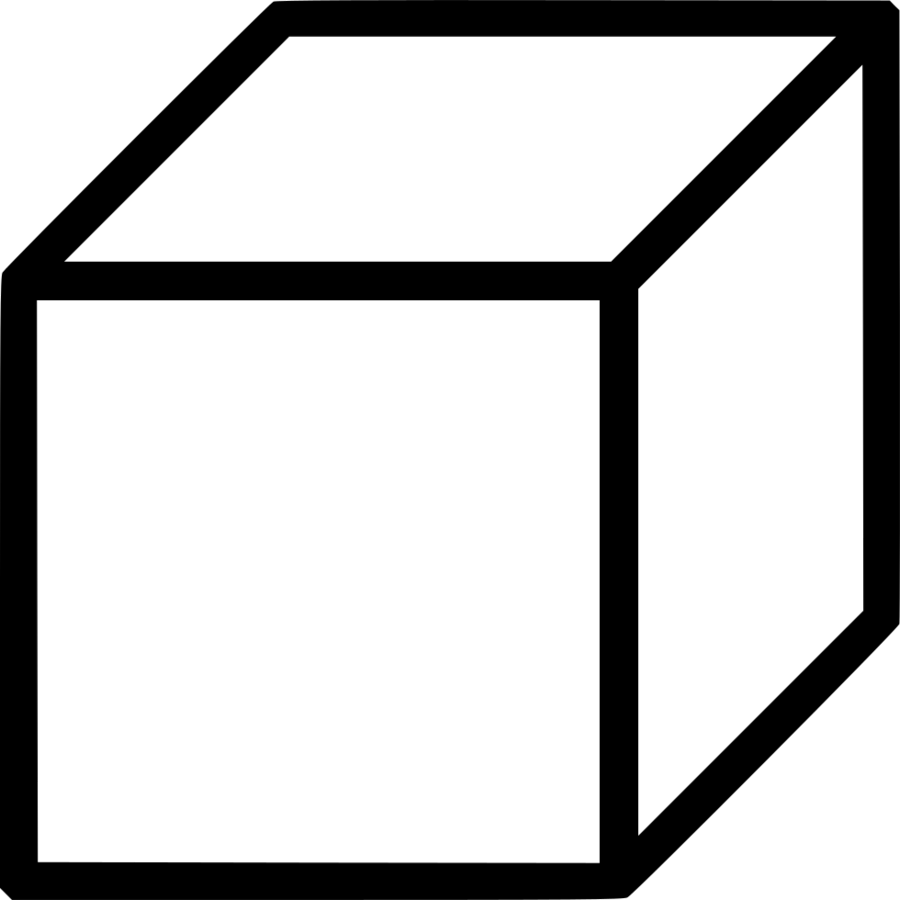 Black and white cube clipart clipart freeuse library Black Line Background clipart - Cube, Shape, White, transparent clip art clipart freeuse library