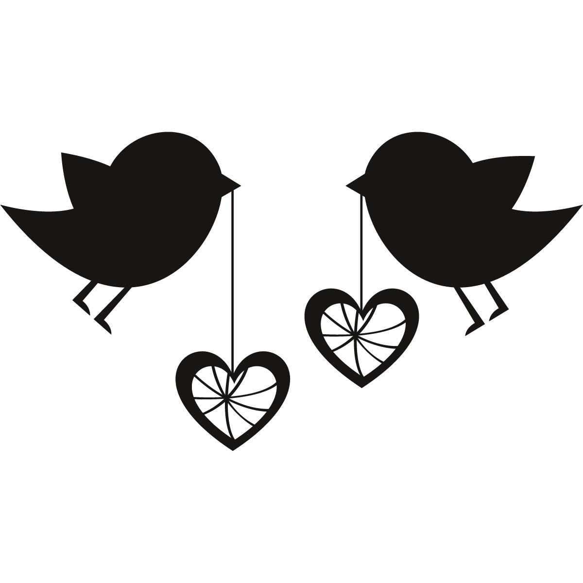 Black and white cute valentine bird clipart png black and white Love Bird Clipart Silhouette | Free download best Love Bird Clipart ... png black and white
