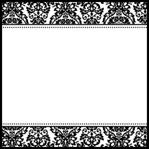 Black and white damask clipart border free graphic free download Free Damask Frames Cliparts, Download Free Clip Art, Free Clip Art ... graphic free download