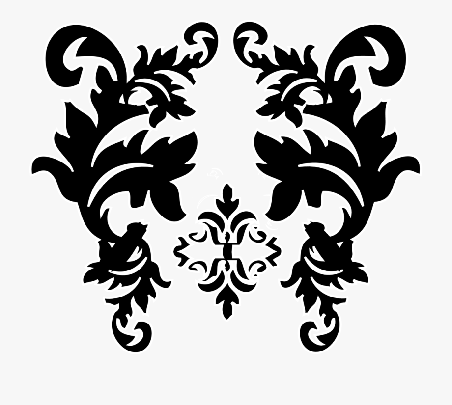 Clip art cliparts on. Free damask clipart