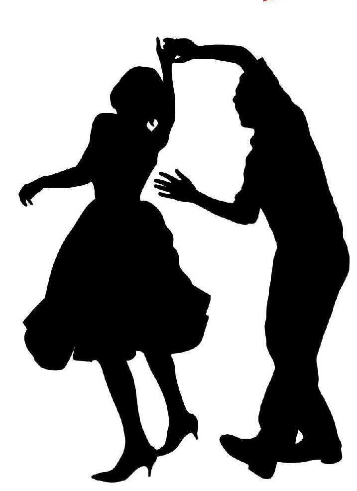 One dance clipart graphic library stock Dance Clip Art Black And White | Clipart Panda - Free Clipart Images graphic library stock