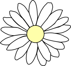 Daisy images clipart png freeuse library 7+ Daisy Clipart Black And White | ClipartLook png freeuse library