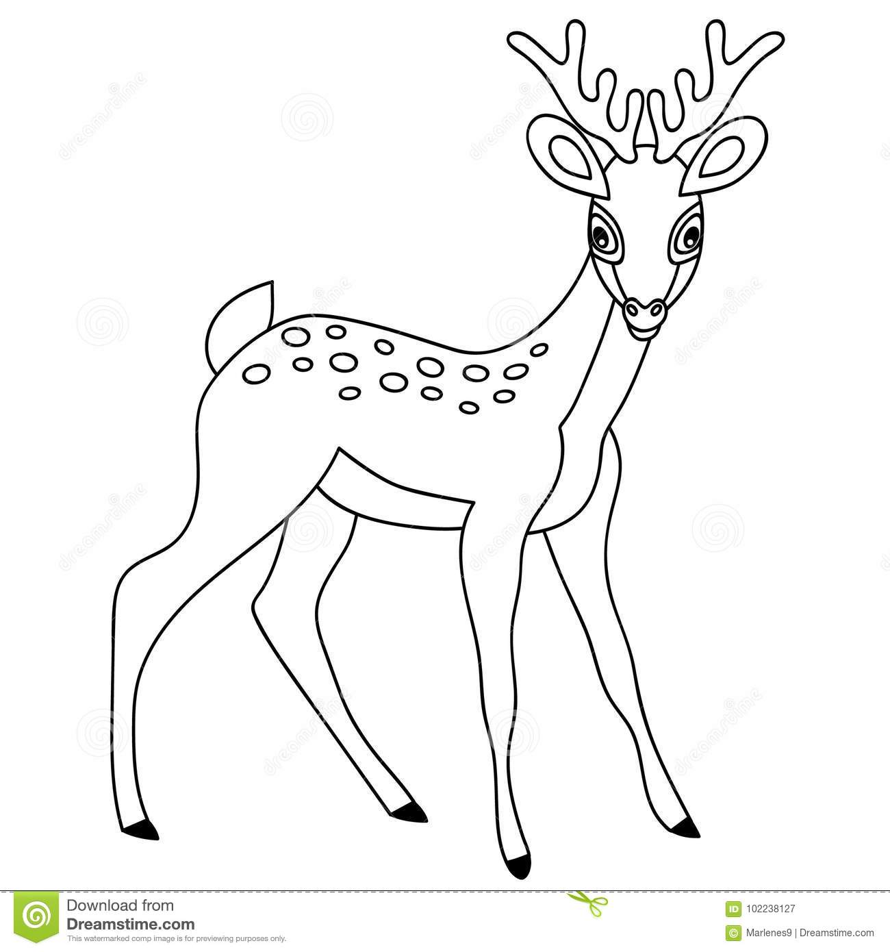 Black and white deer clipart banner black and white Deer Clipart Black And White (98+ images in Collection) Page 2 banner black and white