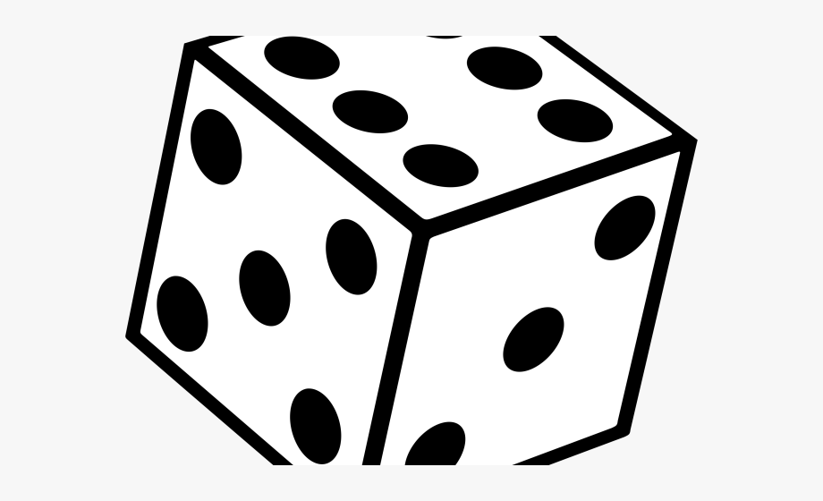 Free dice clipart image free Dice Clipart Six - Dice Black And White #359421 - Free Cliparts on ... image free