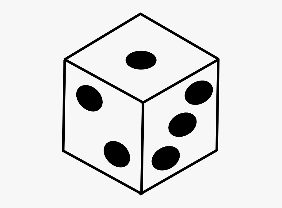 Black and white dice clipart png download Bunco Dice Clipart Free Images - Dice Clipart Black And White ... png download