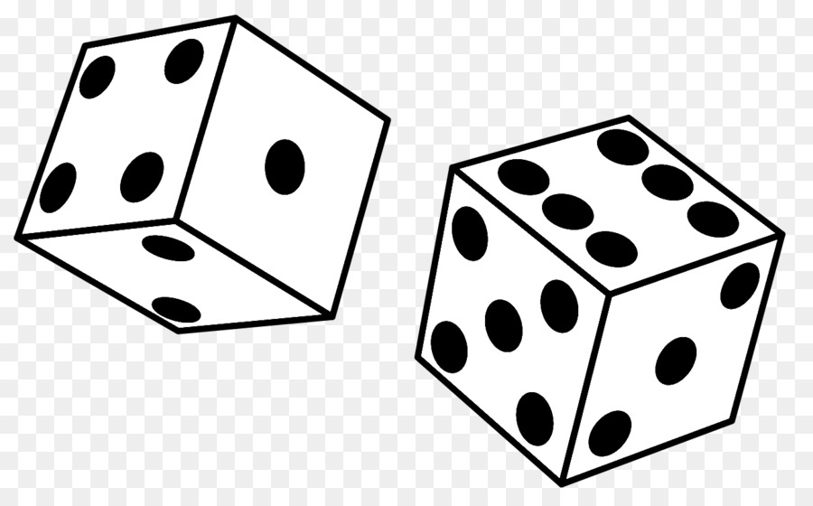 Black and white dice clipart picture black and white library Book Black And White png download - 1299*799 - Free Transparent ... picture black and white library