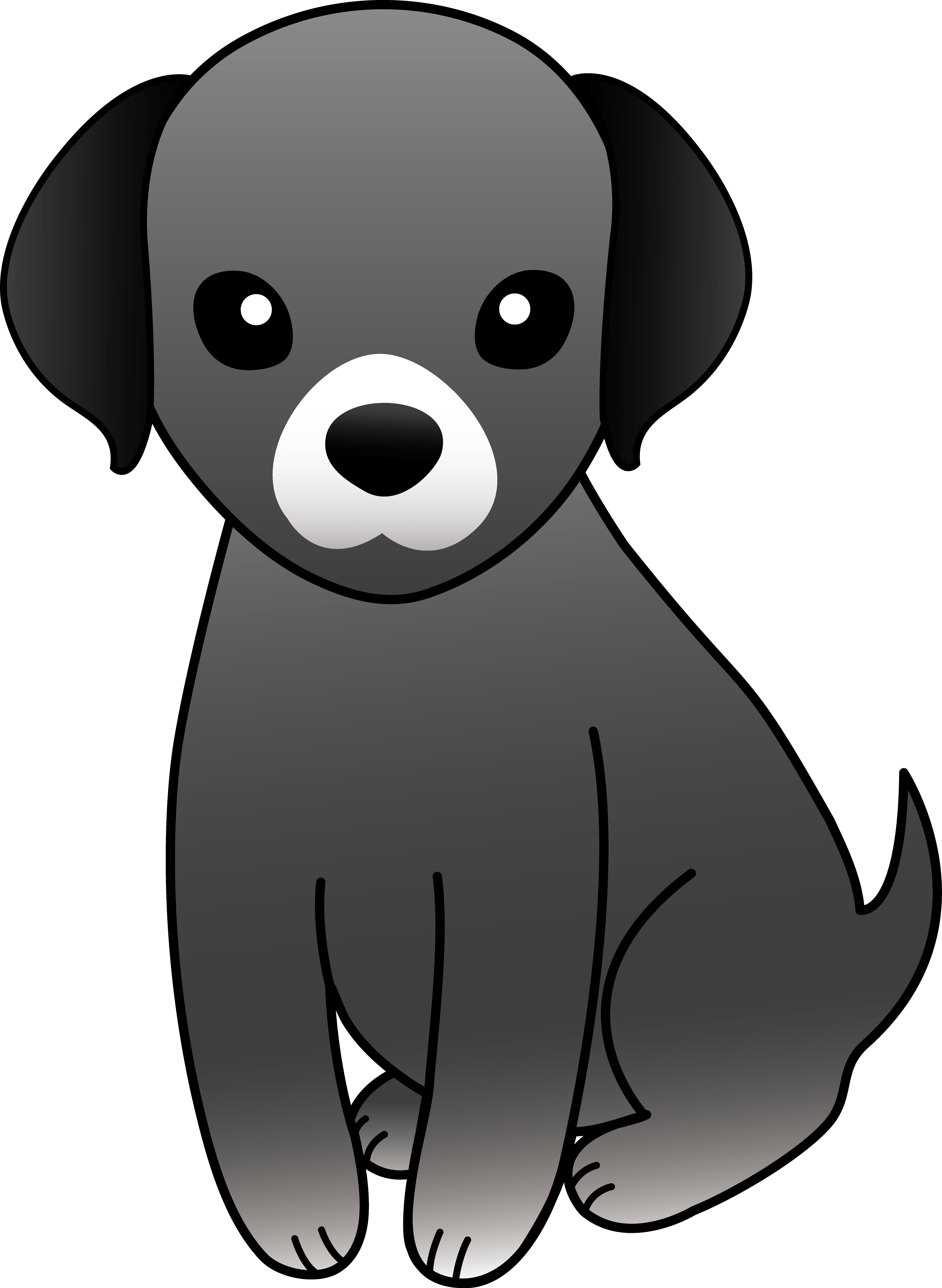 Black and white dog clipart free clip art download Puppy Dog Cliparts - Cliparts Zone clip art download