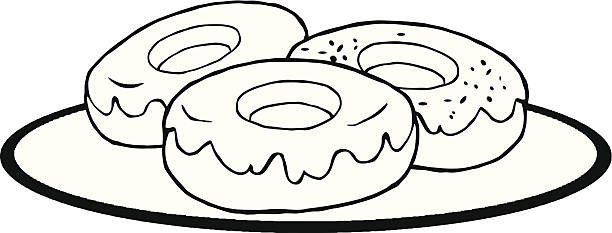 Plain donut black and white clipart image transparent stock Donut Clipart Black And White | Free download best Donut Clipart ... image transparent stock