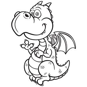 Black and white dragon clipart image stock cute dragon clipart black and white - Google Search | A - Digis ... image stock