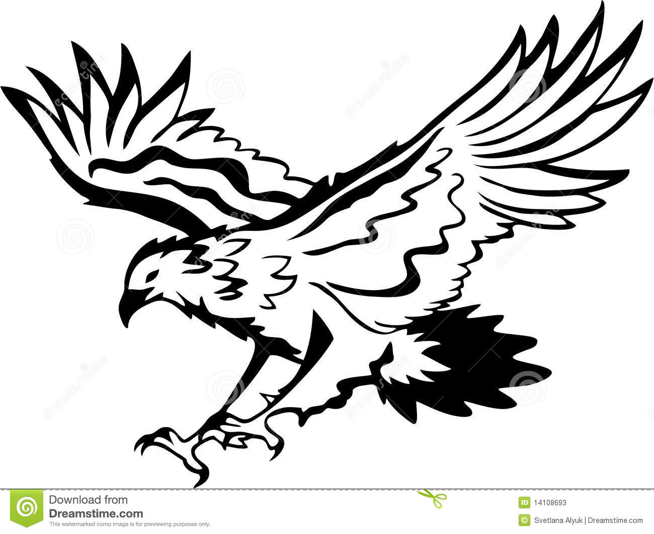 Black and white eagle clipart vector free Free Black And White Eagle, Download Free Clip Art, Free Clip Art on ... vector free