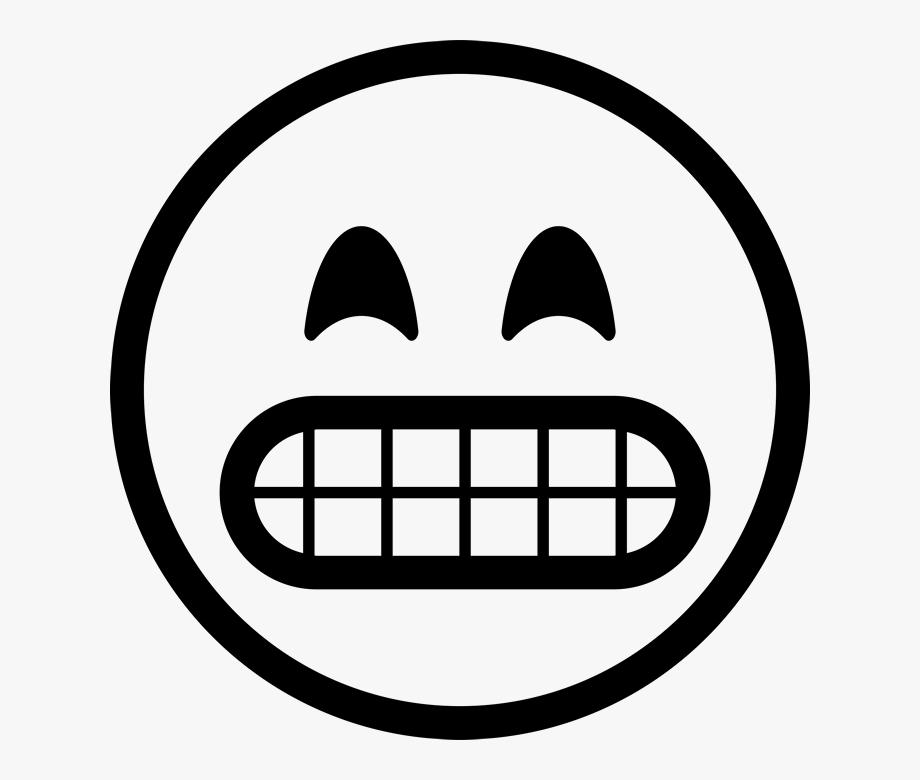 Emoji clipart black and white free clip art black and white library Smiley Emoji Black And White Png #818036 - Free Cliparts on ClipartWiki clip art black and white library