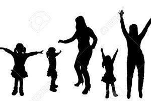 Black and white family and friends clipart graphic download Black family and friends clipart 2 » Clipart Portal graphic download