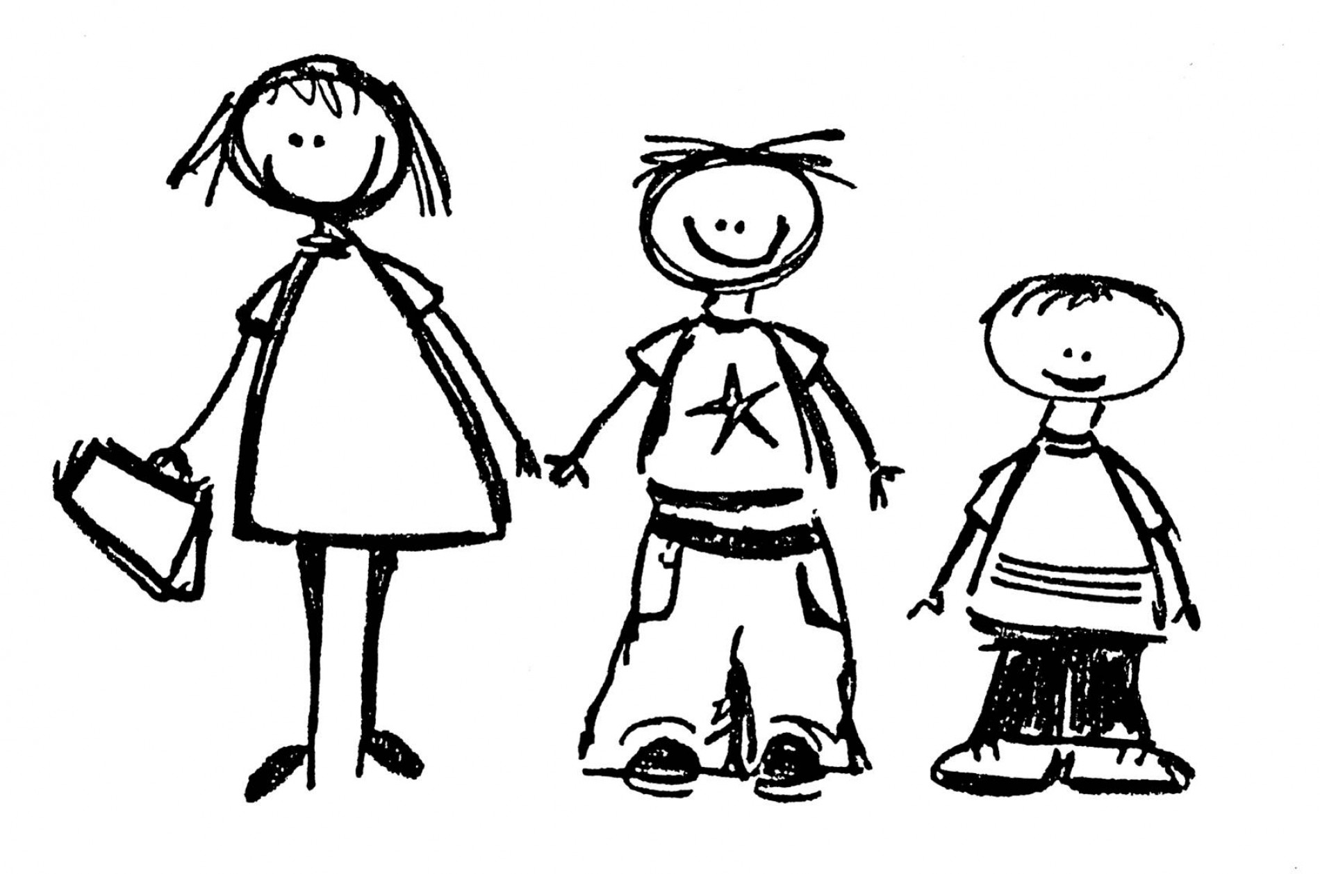 Black and white family and friends clipart image library stock Friends Clipart Black And White | Free download best Friends Clipart ... image library stock