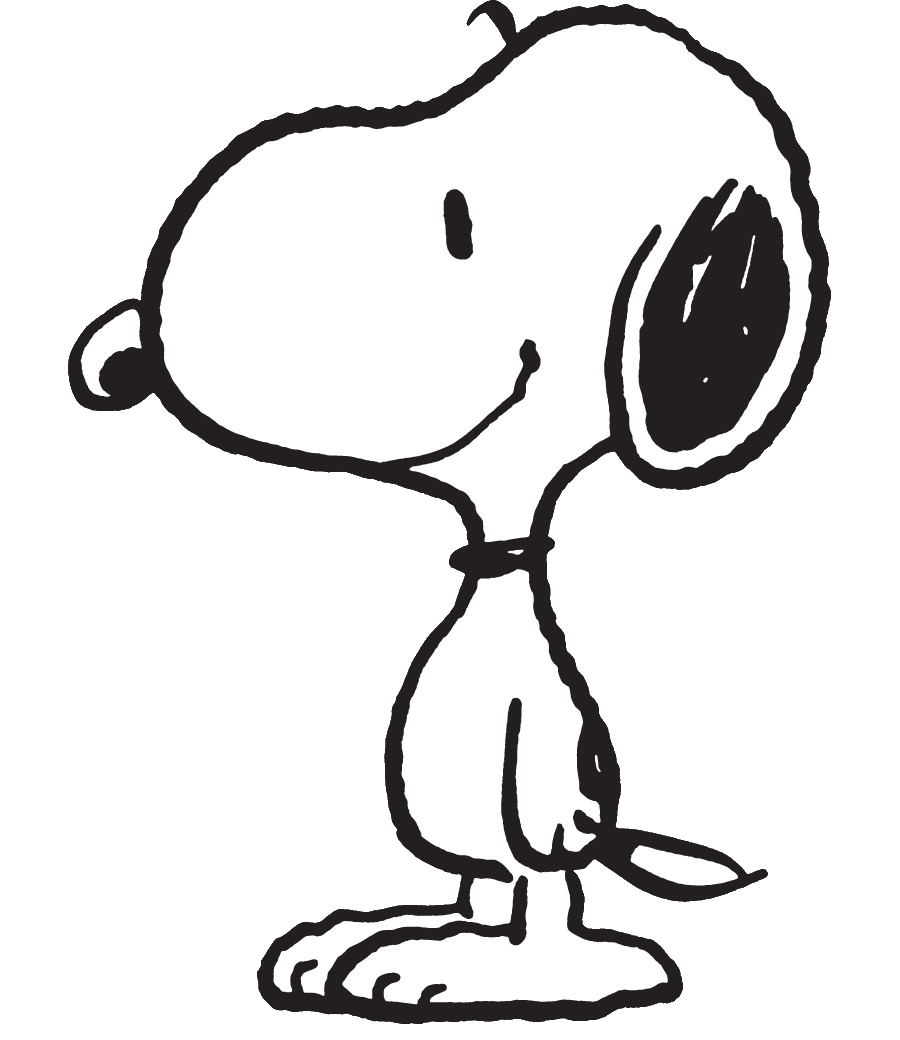 Black and white figure walking away into the night clipart vector black and white stock Snoopy | Peanuts Wiki | FANDOM powered by Wikia vector black and white stock