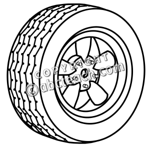 Wheel and tires clipart free clip black and white library Wheels Clipart | Free download best Wheels Clipart on ClipArtMag.com clip black and white library