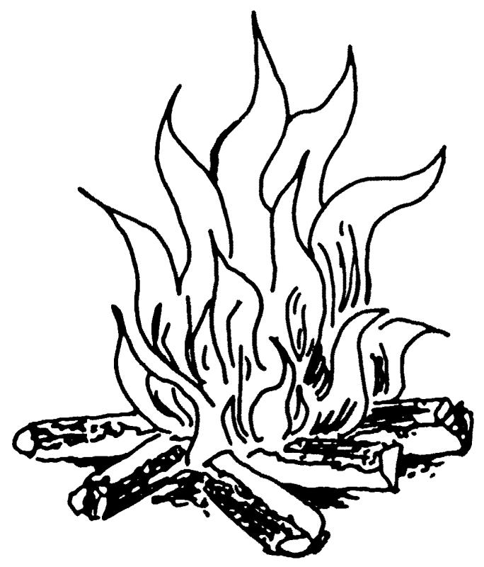 Black and white fire clipart free clip art black and white Black And White Fire Drawing at PaintingValley.com | Explore ... clip art black and white
