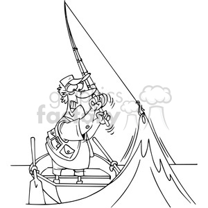 Black and white fisherman clipart no watermark picture transparent download cartoon fisherman in black and white clipart. Royalty-free clipart # 388323 picture transparent download