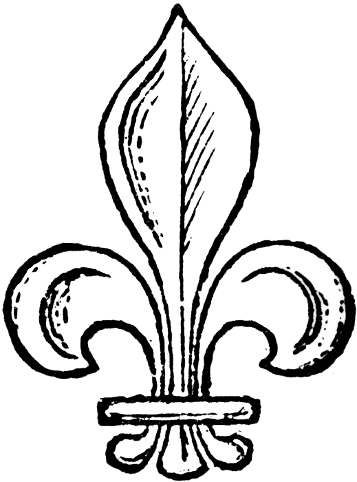 Fleur de lis crown clipart black and white vector black and white FREE ViNTaGE DiGiTaL STaMPS**: Free Vintage Digital Stamp - Fleur De ... vector black and white