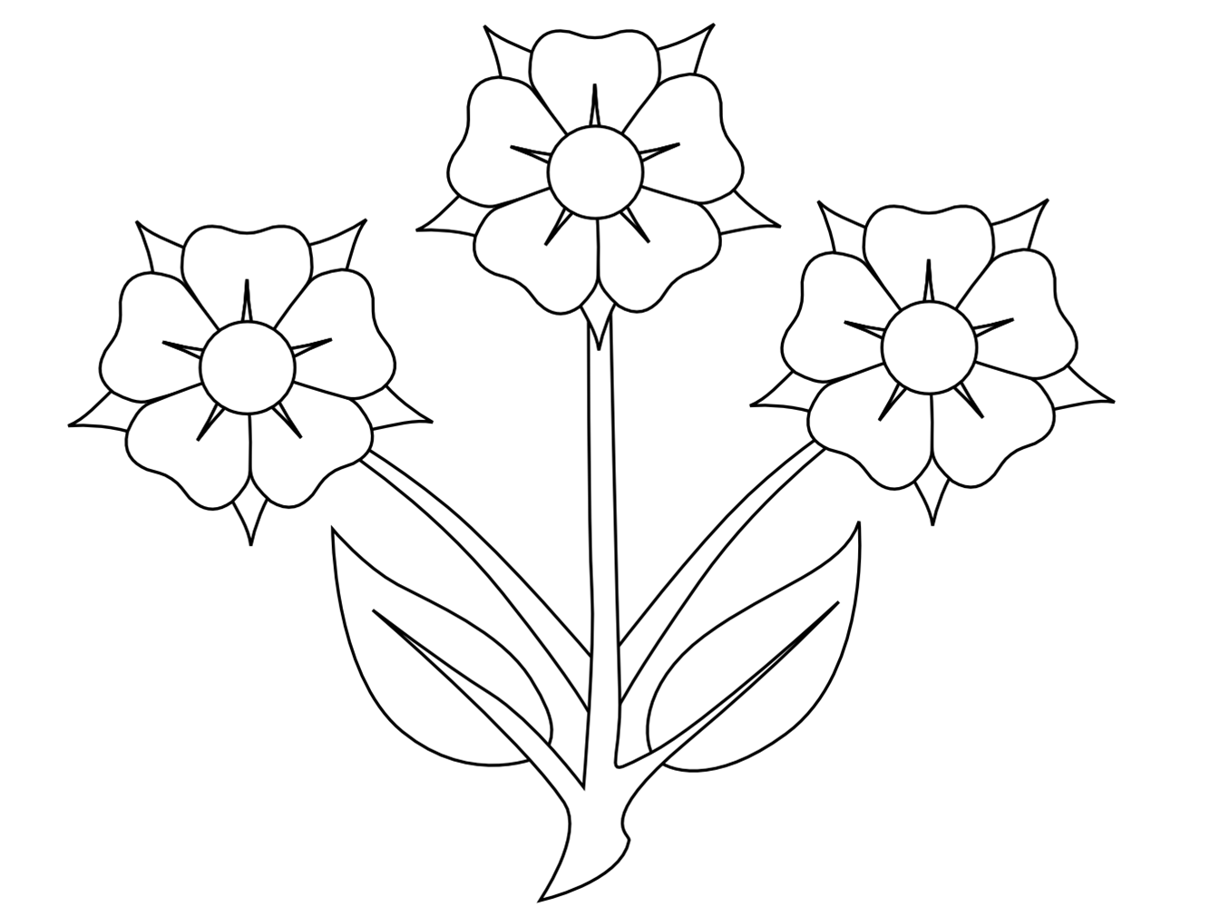 Best Photos of Black And White Flower Clip Art - Black White Flower ... png black and white