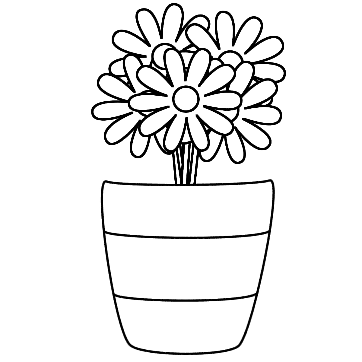 Clipart black and white flowers in a vase picture black and white Vase Clipart Black And White | Free download best Vase Clipart Black ... picture black and white