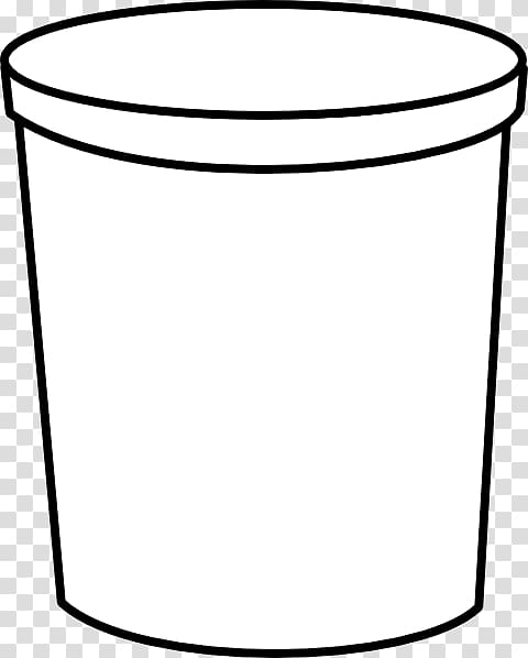 Black and white food containers clipart image free Plastic container Food storage containers , Container transparent ... image free