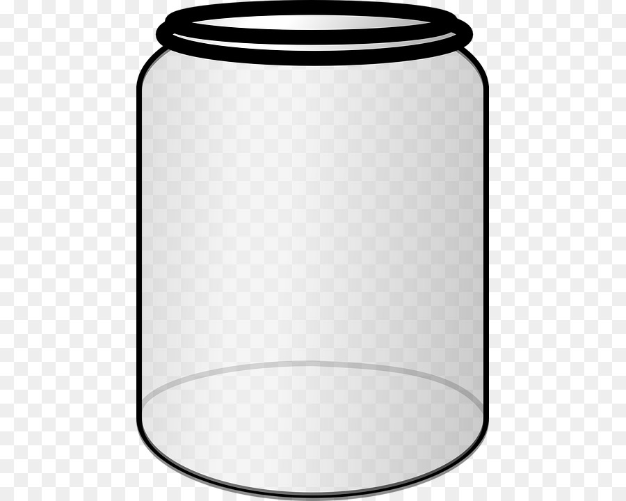 Black and white food containers clipart clipart royalty free Jar Line png download - 507*720 - Free Transparent Jar png Download. clipart royalty free