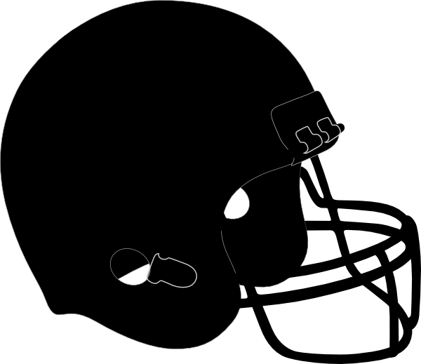 Nfl football helmet clipart banner free library Clipart Football Helmet Black And White | Clipart Panda - Free ... banner free library