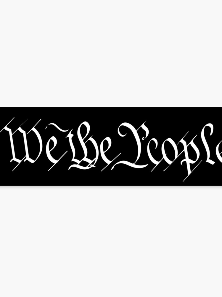Black and white forefathers signing constitution clipart picture royalty free library We The People original signature Founding Fathers US Constitution White on  black background MAGA Patriot HD HIGH QUALITY | Canvas Print picture royalty free library
