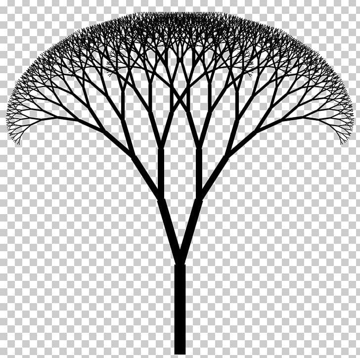 Black and white fractal clipart jpg black and white stock Fractal Canopy H Tree Fractal Tree Index PNG, Clipart, Black And ... jpg black and white stock