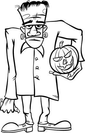 Black and white frankenstein clipart png transparent library Black and white frankenstein clipart 2 » Clipart Portal png transparent library