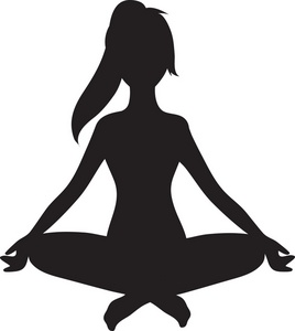 Black and white free clipart meditation transparent library Free Free Meditation Cliparts, Download Free Clip Art, Free Clip Art ... transparent library