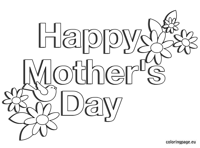 Black and white free clipart mothers day graphic black and white stock Happy mothers day clipart black and white 7 » Clipart Station graphic black and white stock