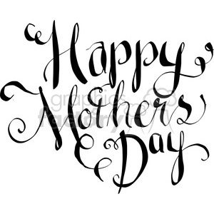 Black and white free clipart mothers day clipart Mothers Day clipart - Royalty-Free Images | Graphics Factory clipart