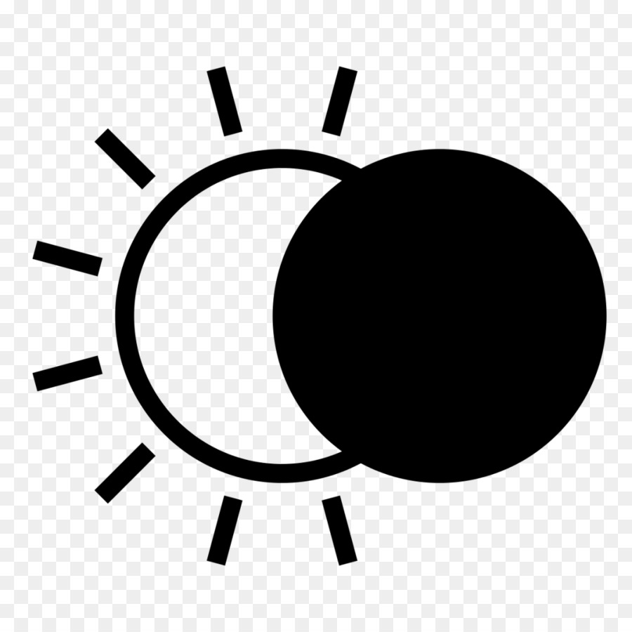 Black and white free clipart solar eclipse 2017 svg royalty free download Black Line Background png download - 1024*1024 - Free Transparent ... svg royalty free download