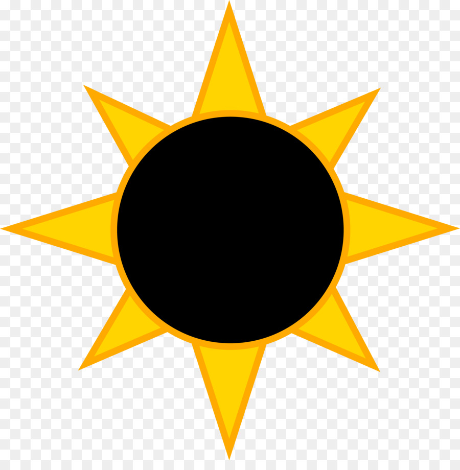 Black and white free clipart solar eclipse 2017 jpg royalty free Moon Drawing png download - 5789*5793 - Free Transparent Solar ... jpg royalty free