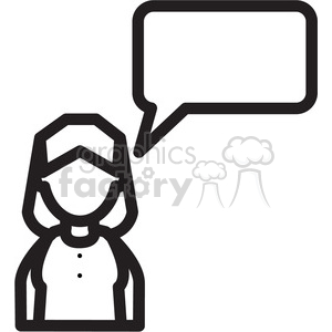 Black and white free clipart women chatting svg transparent african american woman clipart - Royalty-Free Images   Graphics Factory svg transparent