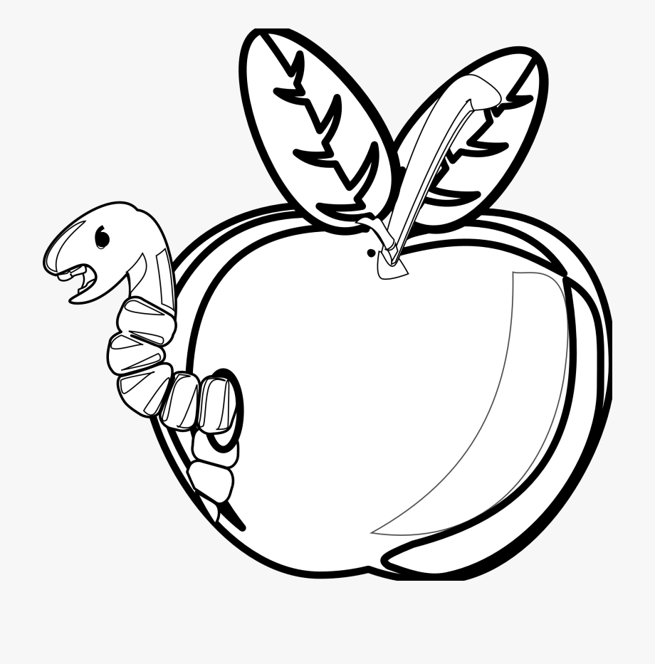 Black and white free lineart clipart for teachers svg royalty free download Apple Black And White Apple Black And White School - Rotten Apple ... svg royalty free download