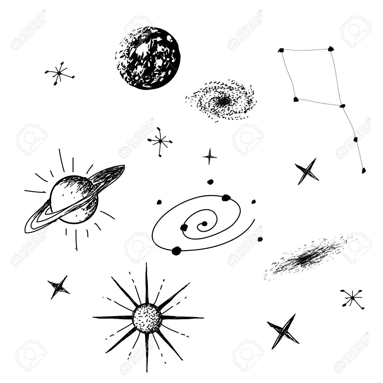 Black and white galaxy clipart jpg freeuse stock Galaxy Clipart Black And White (82+ images in Collection) Page 1 jpg freeuse stock