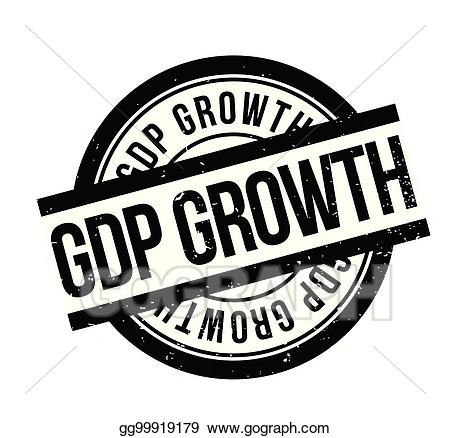 Black and white gdp clipart clip art free stock Vector Art - Gdp growth rubber stamp. EPS clipart gg99919179 - GoGraph clip art free stock