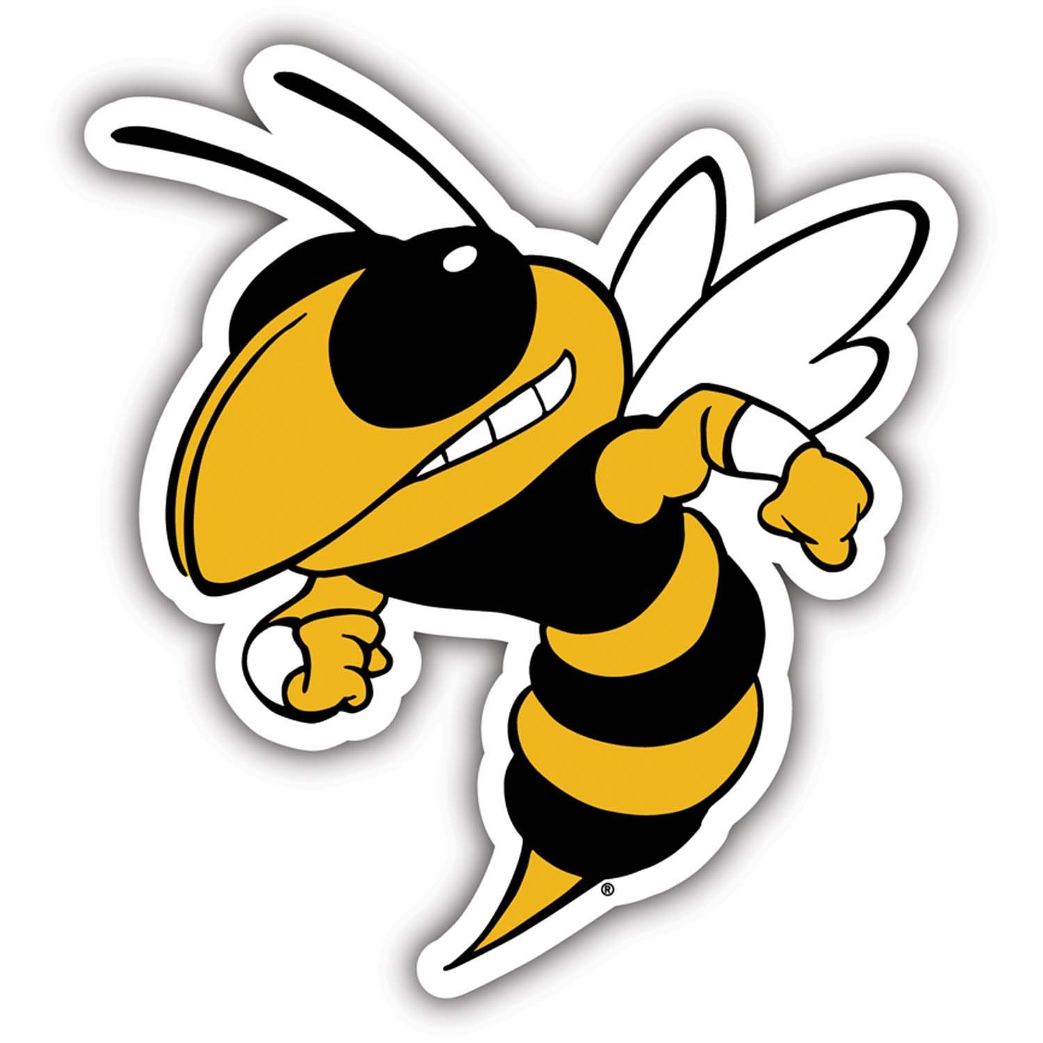 Black and white georgia tech football team clipart clip art library stock Georgia Tech Yellow Jackets Vinyl Magnet Set of 2 | Products/Logos ... clip art library stock