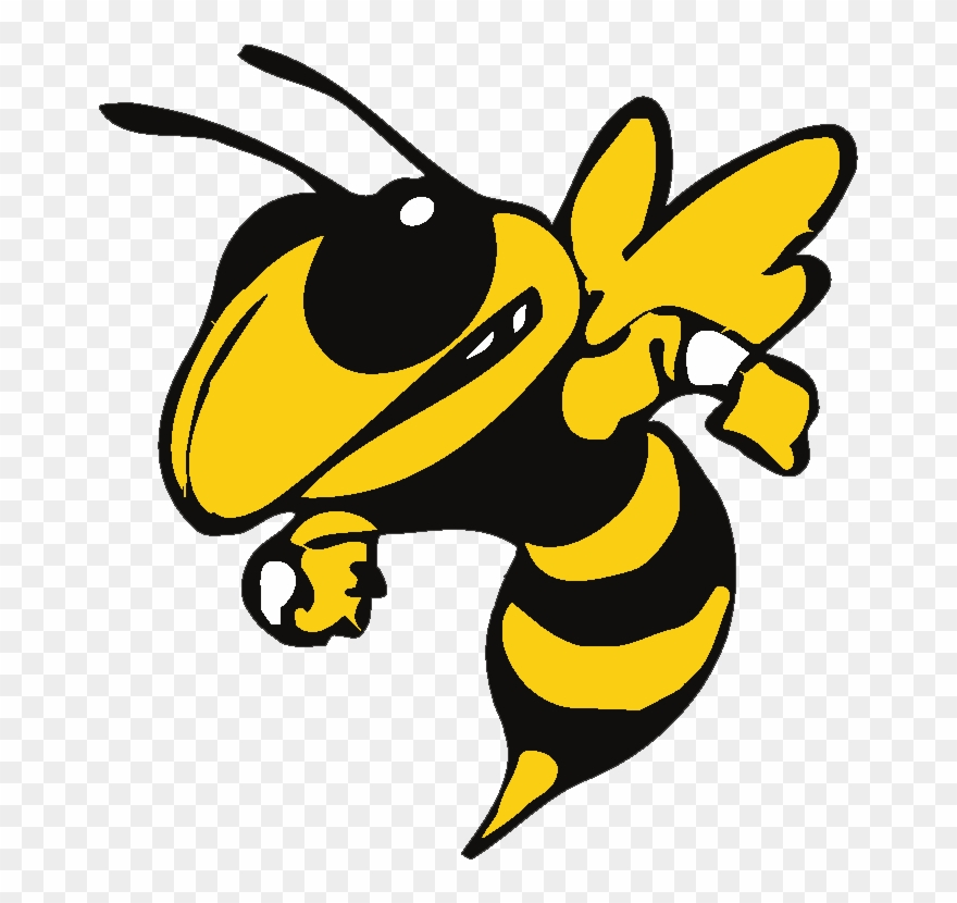 Black and white georgia tech football team clipart clipart royalty free Hayes Hornets - Georgia Tech Yellow Jackets Logo Clipart (#304467 ... clipart royalty free
