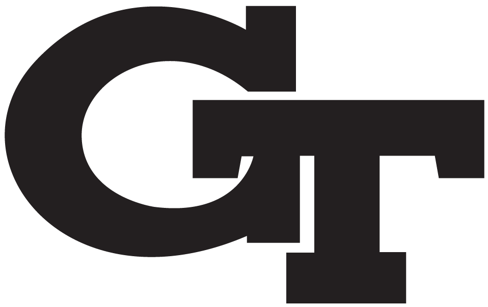 Black and white georgia tech football team clipart banner free download Georgia Tech Yellow Jackets Alternate Logo - NCAA Division I (d-h ... banner free download