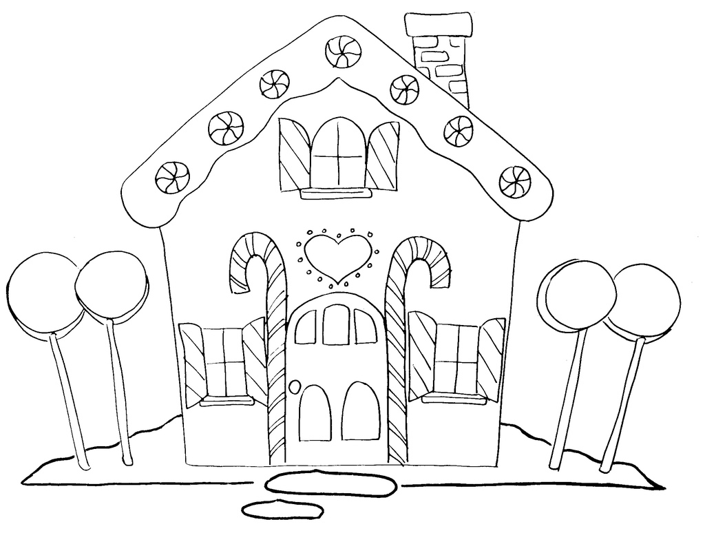 Free black and white ginger bread house clipart free graphic free Gingerbread house gingerbread clip art and hand embroidery patterns ... graphic free