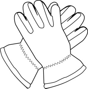 Work glove clipart