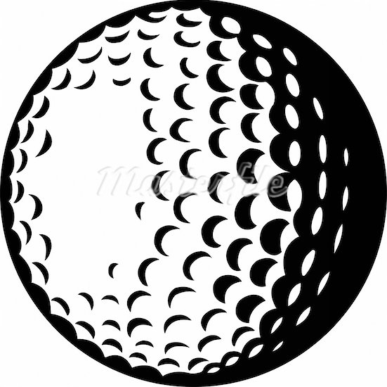 Black and white golf ball clipart images image freeuse library Golf ball clipart black and white 6 » Clipart Station image freeuse library