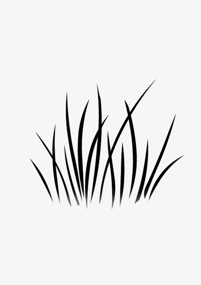Black and white grass clipart svg library stock Clipart black and white grass 1 » Clipart Portal svg library stock
