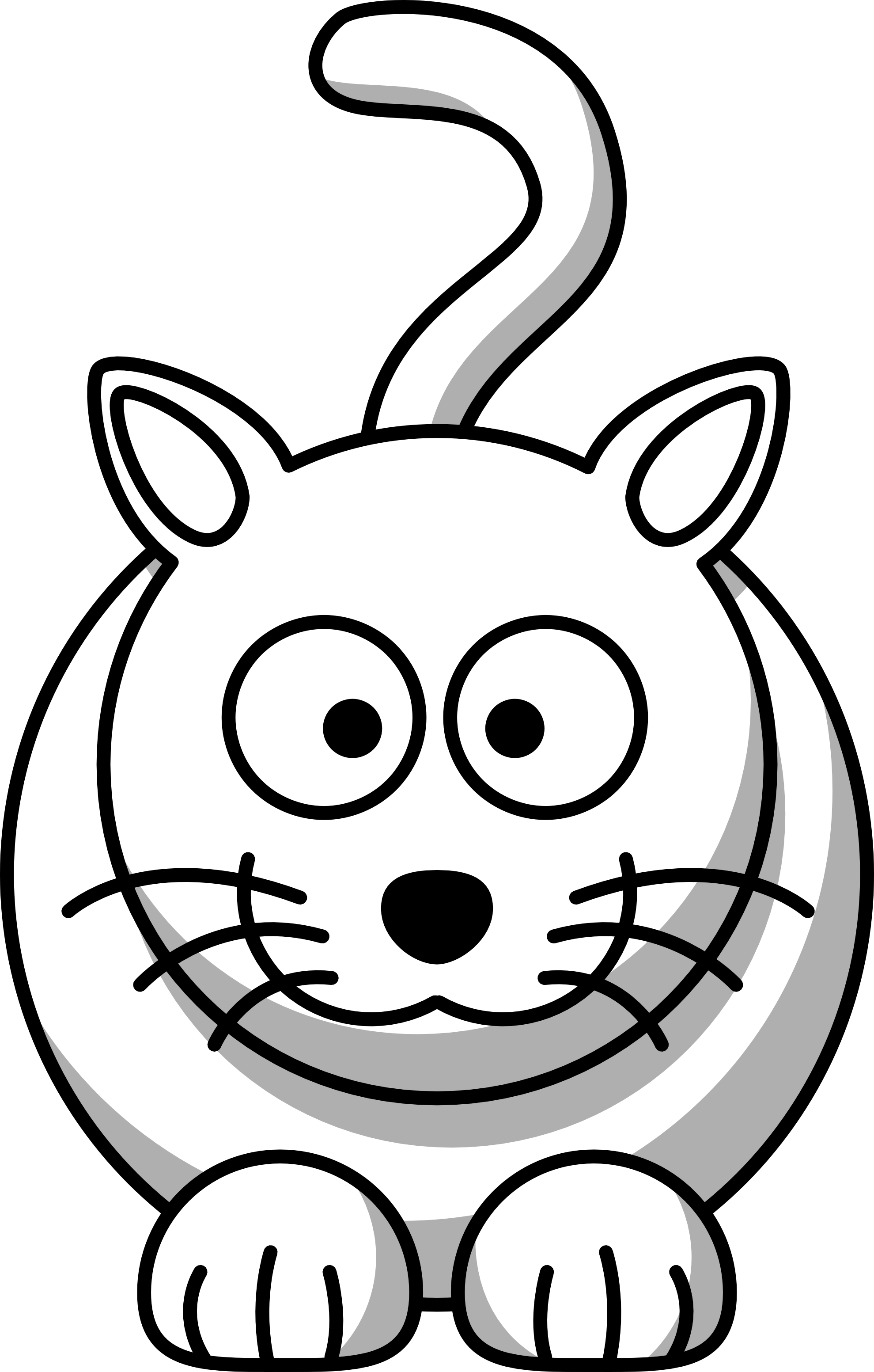 Dog cat clipart black and white free library Cartoon Animals Black And White Pictures 5 HD Wallpapers | amagico ... free library