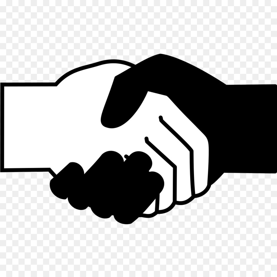 Black and white handshake clipart picture royalty free download Black And White Handshake Png & Free Black And White Handshake.png ... picture royalty free download